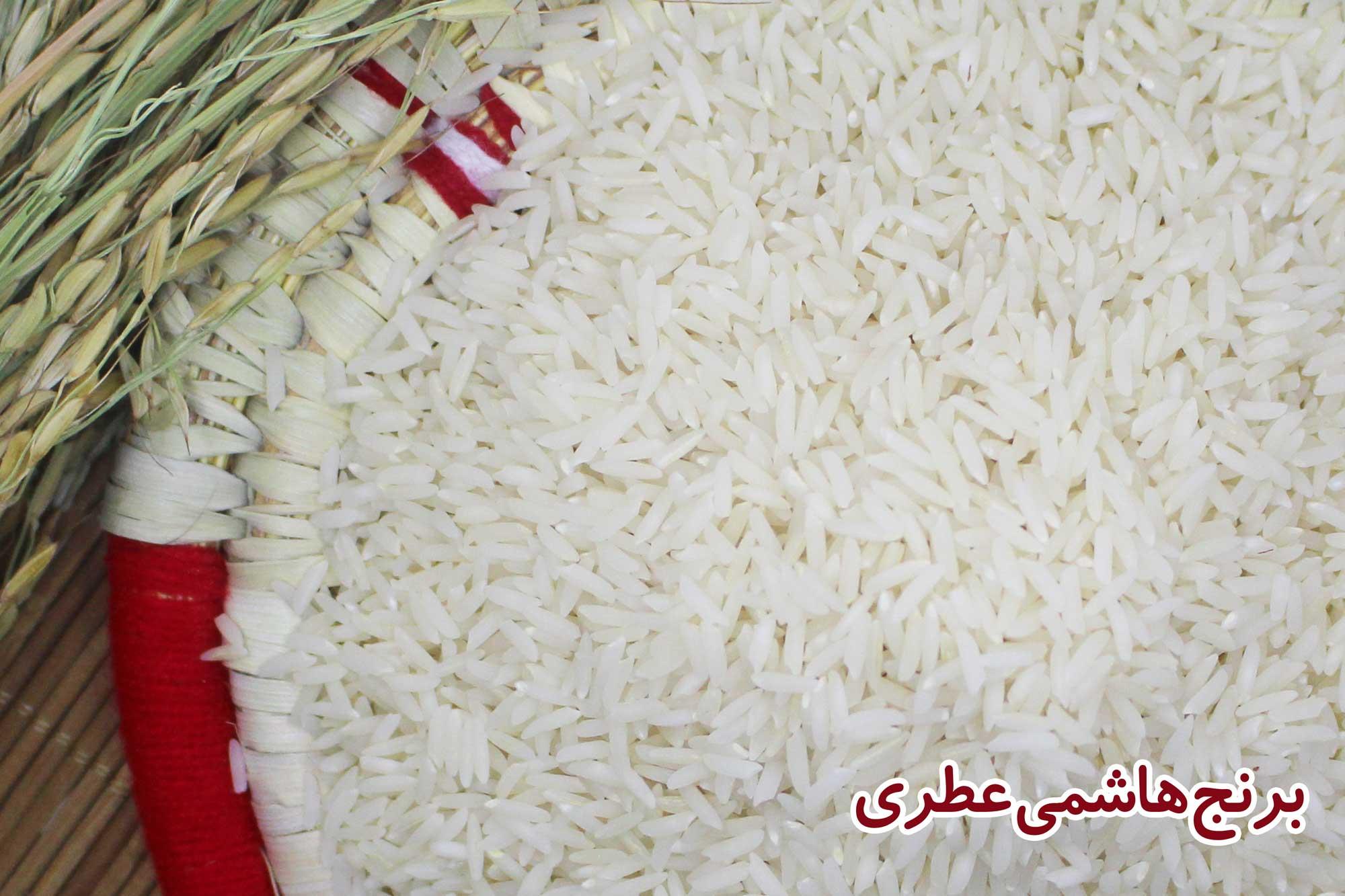 خرید برنج هاشمی درجه یک